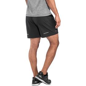 """asics 5"""" Shorts Miehet Juoksushortsit , musta"""